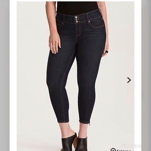 Crop jegging jeans